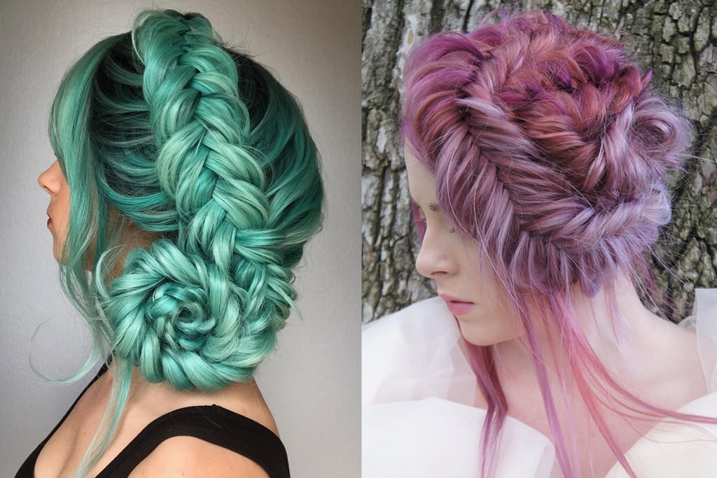 Fossil Braid Hair Trend