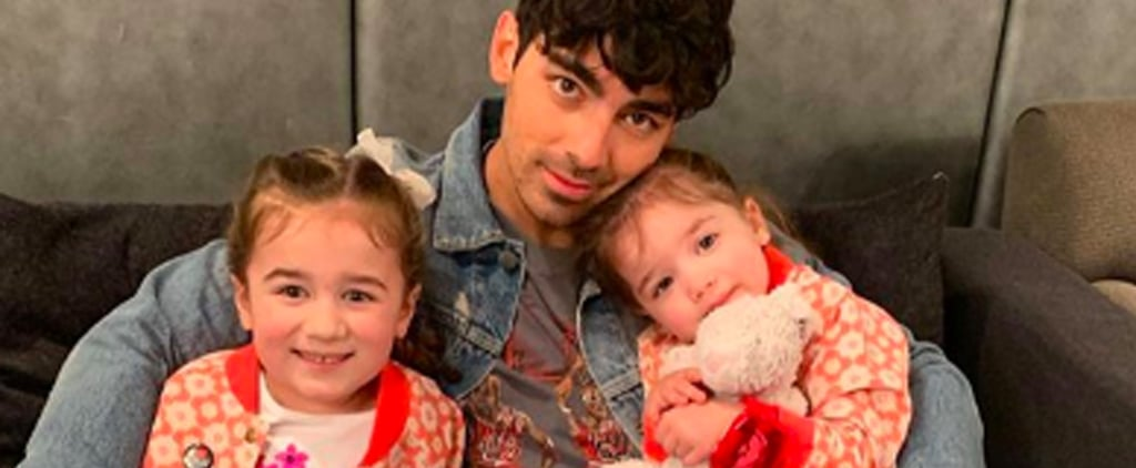 Joe Jonas With Nieces Alena and Valentina Pictures