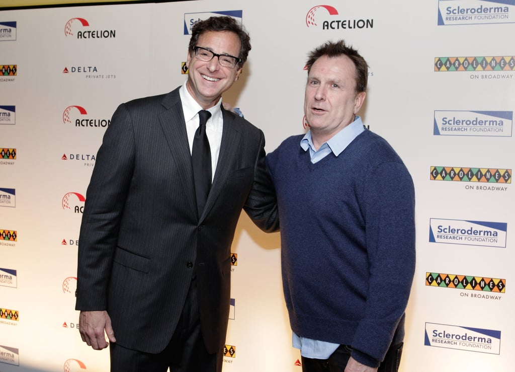 Bob Saget and Colin Quinn on the red carpet at a Scleroderma Research Foundation event in NYC.