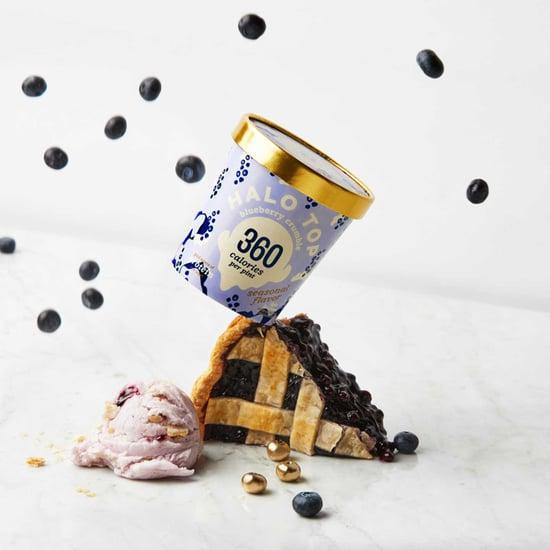 Halo Top Blueberry Crumble Ice Cream