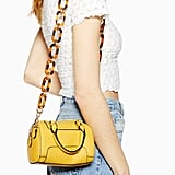 Topshop Chile Chain Bowler Bag