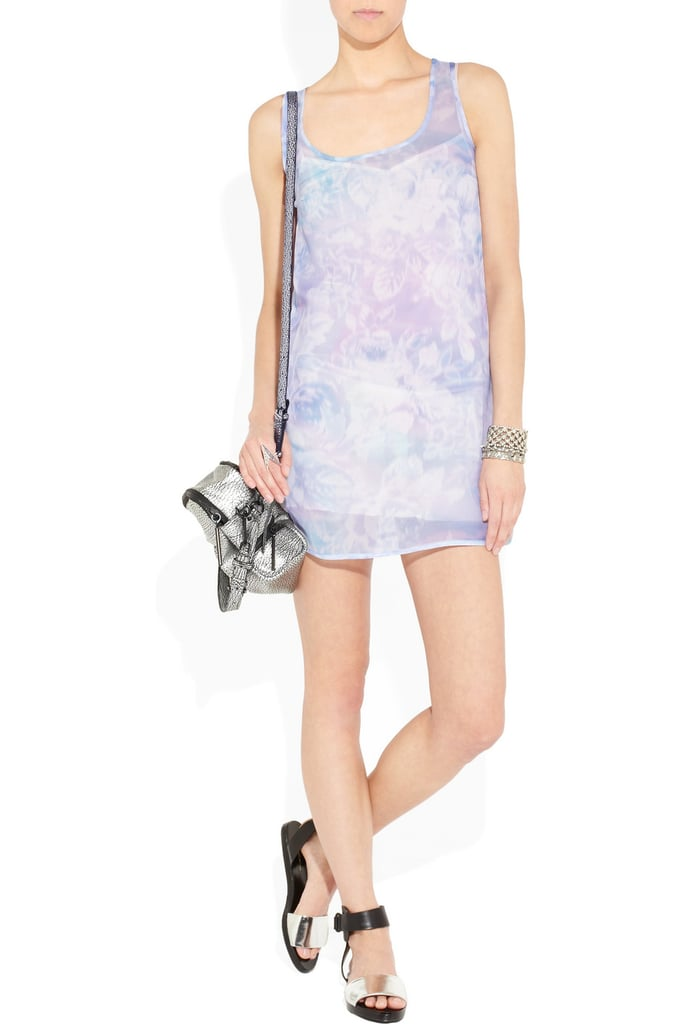 Richard Nicoll Floral Print Silk-Chiffon Dress ($685)