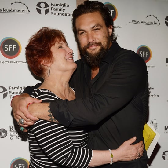 Jason Momoa With His Mum Pictures