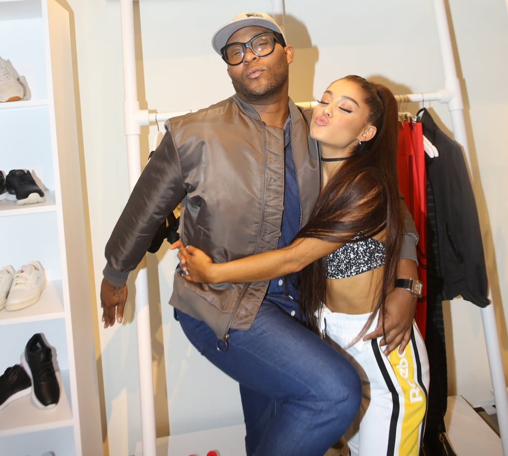 Law Roach and Ariana Grande