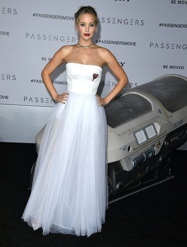 Jennifer Lawrence at Passengers LA Premiere