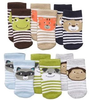 Terry Face Socks