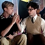 Kill Your Darlings  What it's about: Daniel Radcliffe plays beat poet Allen Ginsberg as a college student, when he's introduced to new ideas, drugs, and fascinating but troubled Lucien Carr (Dane DeHaan). Why we're interested: We're curious about Radcliffe's post-Harry Potter role, especially since this character is so far removed from Harry — or anything else Radcliffe has done so far.  When it opens: Oct. 16 Watch the trailer for Kill Your Darlings.