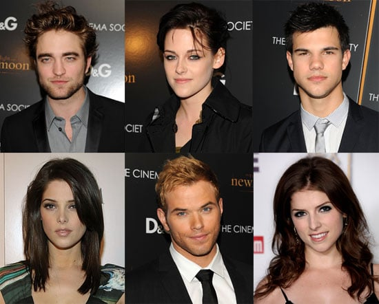 THEN AND NOW The cast of the Twilight saga