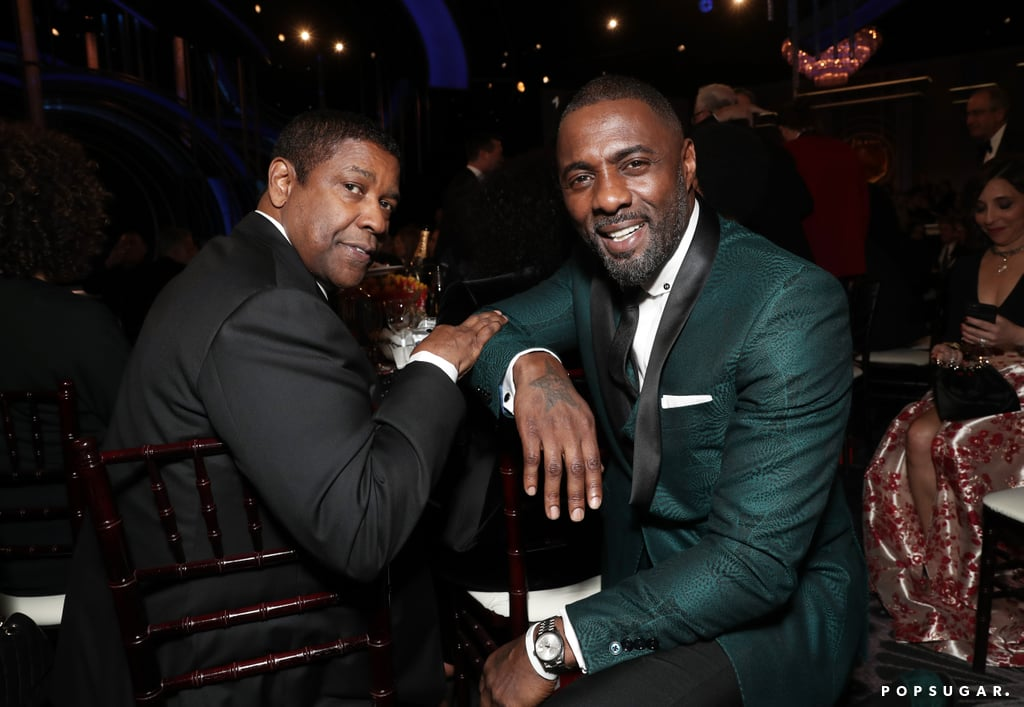 Pictured: Denzel Washington and Idris Elba
