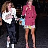 Taylor Swift Floral Crop Top New Album Merch in New York