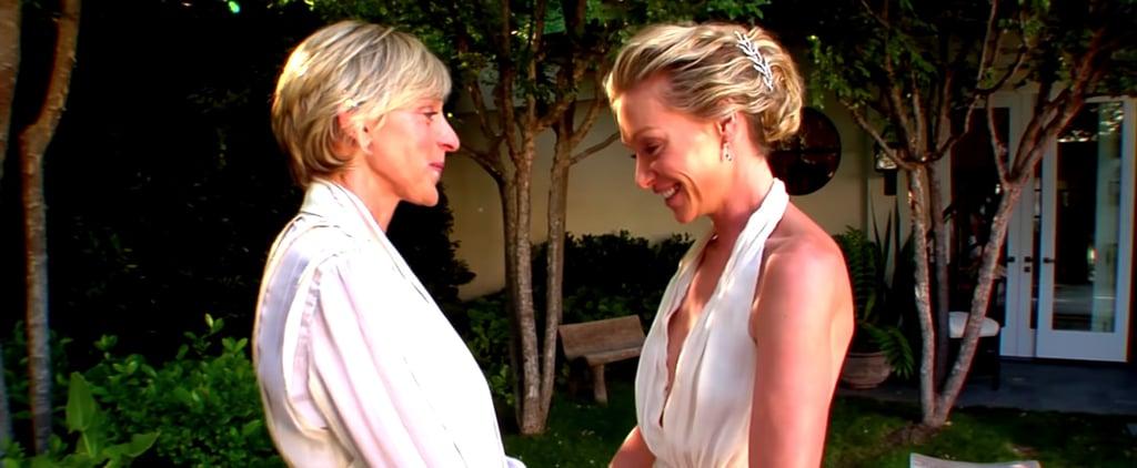 Ellen DeGeneres and Portia de Rossi's Anniversary Video 2018