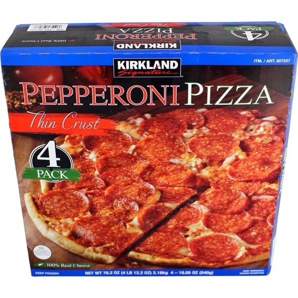Best Costco Frozen Food Kirkland Thin Crust Pepperoni Pizza 15 10 Frozen Items You Ll Want To Pick Up On Your Next Costco Run Popsugar Food Photo 7