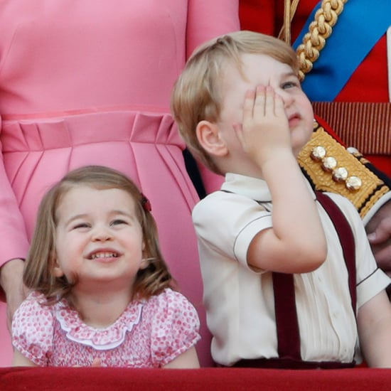 Princess Charlotte Bosses Around Prince George