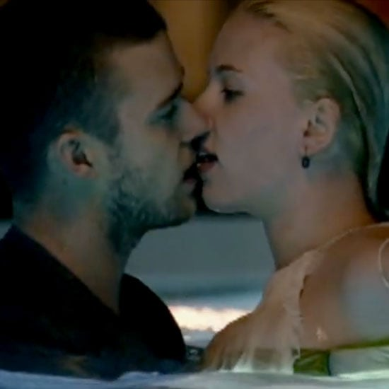 "Scarlett Johansson made out with Justin Timberlakefor his 2007 video ""What Goes Around Comes Around."""