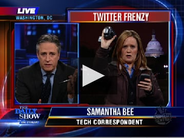 The Daily Show Explains Twitter, Sort Of