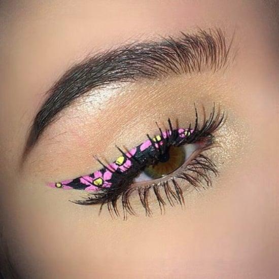 Floral Eyeliner Spring 2017