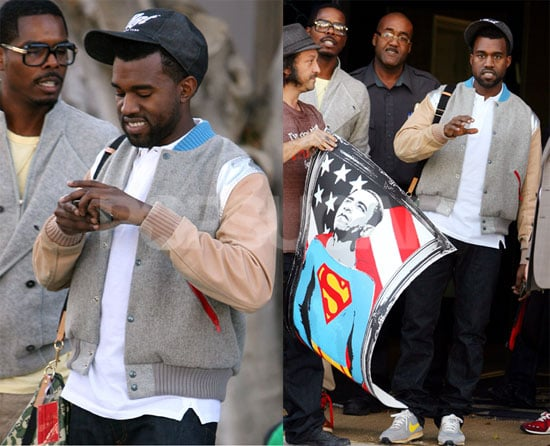 Photos of Kanye West in LA