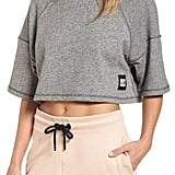 Ivy Park Raw Edge Crop Top