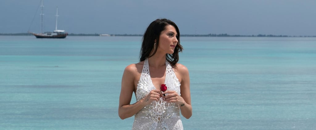 Becca Kufrin's Engagement Ring on The Bachelorette Photos