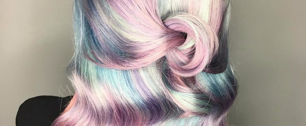 "This Pearlescent Hair Trend Will Make You Shout ""Mother of Pearl!"""