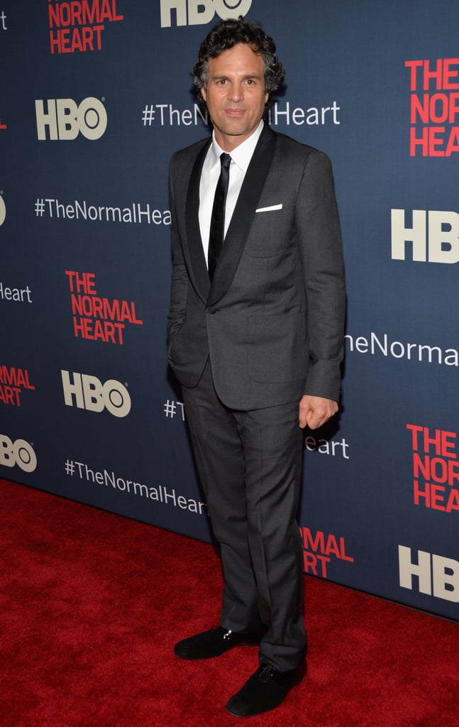 Mark Ruffalo looked dapper in a suit.