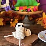 Mummy Marshmallow Wands