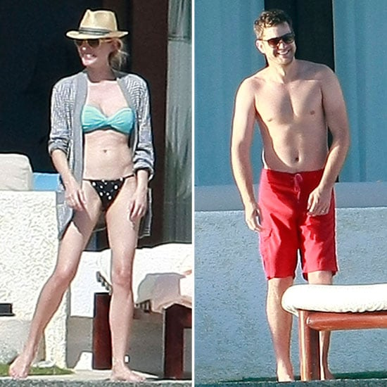 Diane Kruger Lounges in a Bikini With Shirtless Joshua Jackson in Mexico