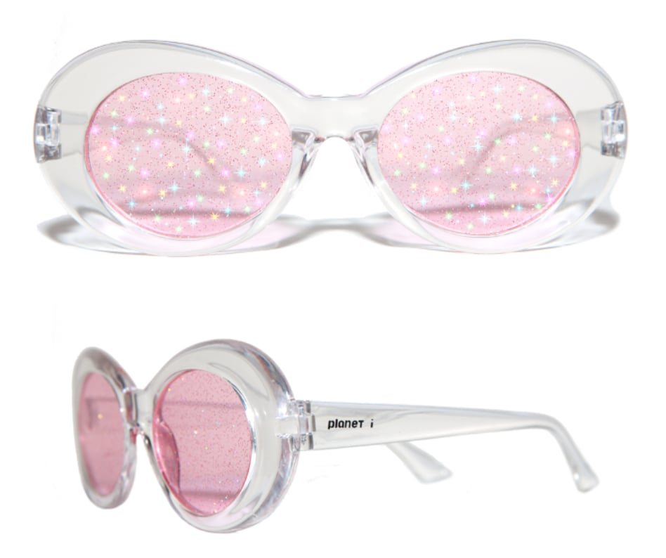 Extraterrestrial Clear Pink Lens ($72)
