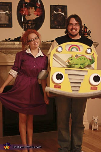 ms frizzle and the magic school bus halloween couples. Black Bedroom Furniture Sets. Home Design Ideas