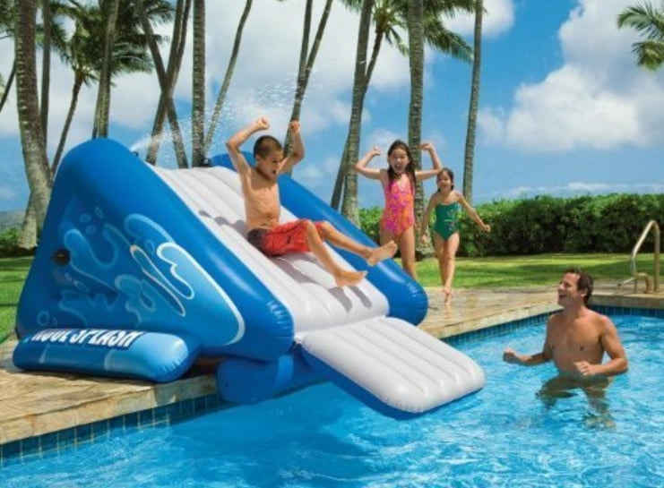 Inflatable Water Slide Best Summer Toys 2016 POPSUGAR Moms Photo 23