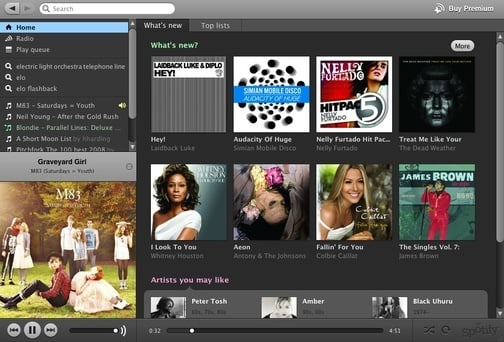 Daily Tech: Spotify Gives You Instant Access to Tunes