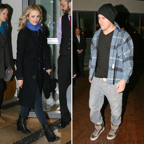 Rachel McAdams and Channing Tatum in London Pictures