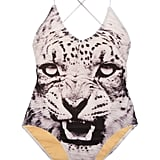 We don't have to tell you how fierce this one-piece is — the tiger graphic says it all. We Are Handsome The Fighter Swimsuit ($240, originally $282)