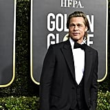 Brad Pitt at the 2020 Golden Globes
