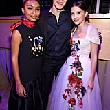 Yara Shahidi, Shawn Mendes, and Millie Bobby Brown.