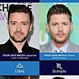 Celebrity Love Match Based on Zodiac Sign