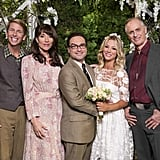 Penny's Wedding Dress on The Big Bang Theory