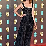 Freya Mavor at the 2019 BAFTA Awards