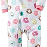 Carter's Donut Print Fleece Footie