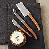 Dubost Olivewood Cheese Set ($50)