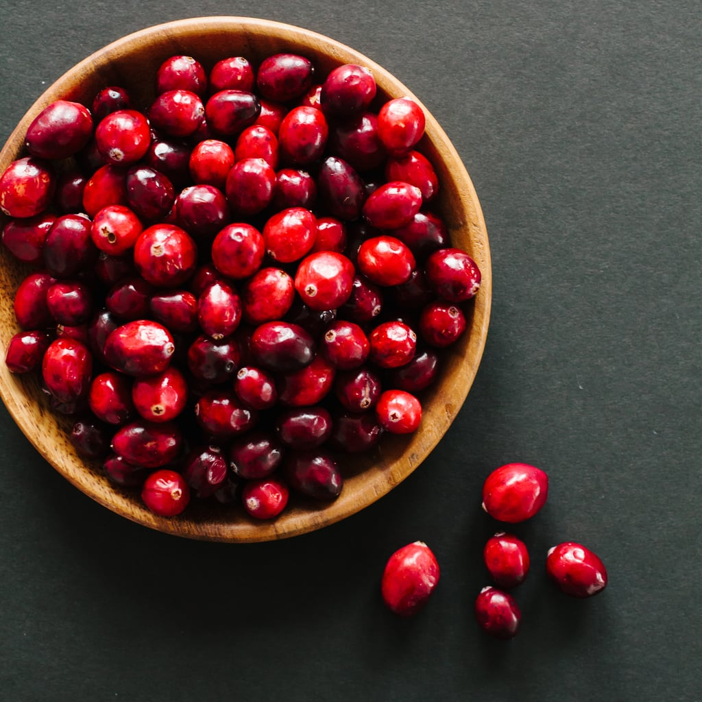 Try cranberries for lustrous hair