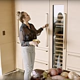 Because she's Chrissy Teigen, we would expect nothing short of a jaw-dropping kitchen. I mean, just look at those massive twin fridges!