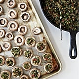 Appetizer: Vegan Stuffed Mushrooms