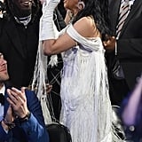 Photos of Cardi B Accepting Her First-Ever Grammy Award