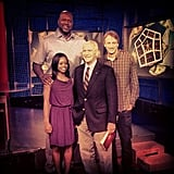 Tony Hawk hit the talk-show circuit alongside Shaquille O'Neal and Gabrielle Douglas. Source: Instagram user tonyhawk