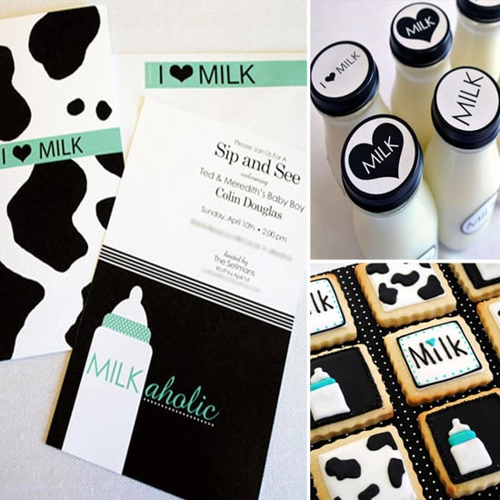A Coed Milk And Cookies Themed Baby Shower Popsugar Family