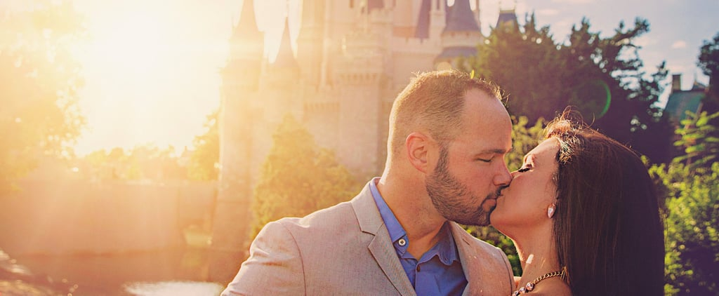 This Couple Began Their Happily Ever After at the Most Magical Place on Earth