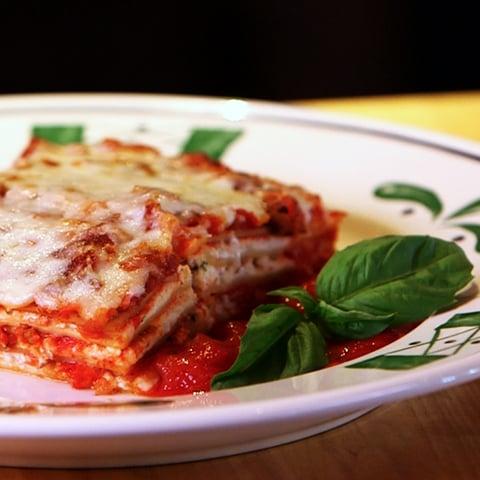 Olive Gardens Lasagna Recipe POPSUGAR Food