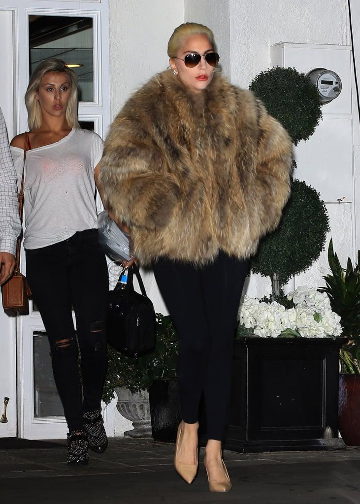 Lady Gaga Out in LA November 2016