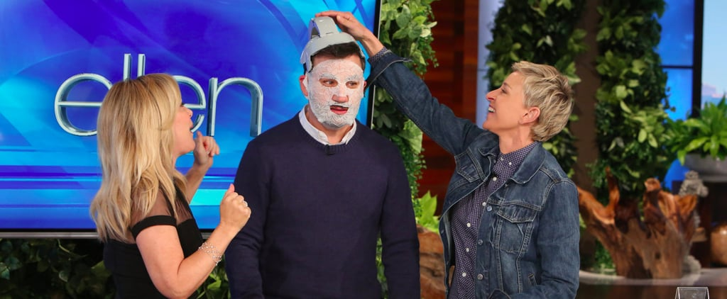 Ellen DeGeneres Gives Jimmy Kimmel a Much-Needed Makeover Ahead of the Oscars